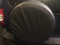 Чехол запасного колеса SKYWAY экокожа (d67)