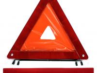 Знак аварийной остановки в пластиковом боксе