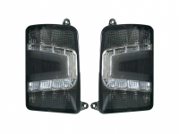 Фонари 2121*, Lada 4х4 Urban светодиодные черные ТЮН-АВТО (2 шт.)