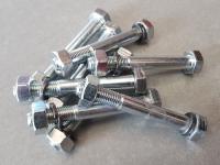 Болты крепления проставок для лифта передней подвески на 5 см с гайками 2121*, 2123 (8 шт.)
