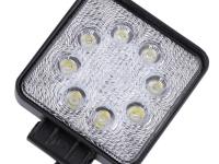 Фара рабочего света светодиодная квадратная 24W (110 мм)
