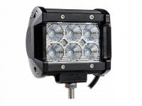 Фара дополнительного освещения светодиодная 18W (99 мм)