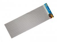 Сетка соты алюминиевая серебро 1000х400 16х6 Dollex