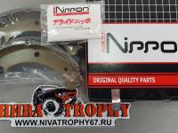 Колодки тормозные задние 2121*, 2123 Allied Nippon