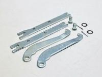 Планки распорные задних тормозных колодок с рычагами 2121*
