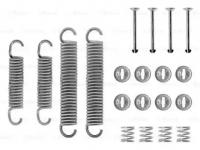 Пружины и фиксаторы задних тормозных колодок 2121*, 2123