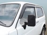 Дефлекторы боковых окон накладные 2121* Azard (2 шт.)