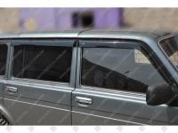 Дефлекторы боковых окон накладные 2131 AZARD