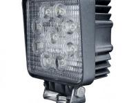 Фара рабочего света светодиодная квадратная 27W (110 мм)