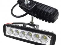 Фара дополнительного освещения светодиодная 18W дальний (45х55х165)