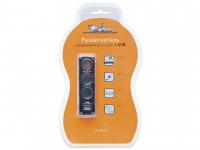 Разветвитель прикуривателя на 3 гнезда + 1 USB AIRLINE