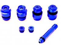 Скрытый вентиль сборно-разборный 16мм (синий)