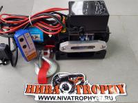 Лебедка Electric Winch ATV 4000lbs/1814kg (синтетический трос)