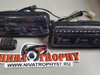 Подфарники 2121*,Lada 4х4 Urban светодиодные с ДХО тонированные