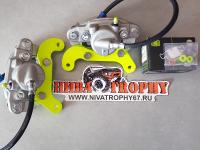 Комплект передних тормозов 2121*, 2123 (суппорт 2108) TRIALLI
