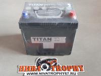 Аккумулятор СТ-62 TITAN ASIA STANDART 520A обратный