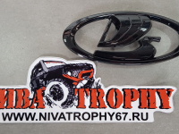 Эмблема решетки радиатора Lada 4х4 Urban глянцевая