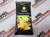Салфетки влажные для кожаного салона (30 шт.) GRASS