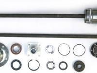 Полуоси усиленные разгруженного типа без ABS ИЖ-ТЕХНО (22 шлица/765 мм)
